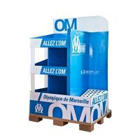 Wholesale Creative Pop Advertisement Display Stands , Exhibition Cardboard Display Shelves from china suppliers