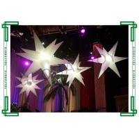 Wholesale Fire Retardant Inflatable Stars / Inflatable LED Star Party Decoration from china suppliers
