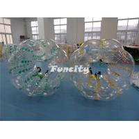 Buy cheap 1.2m 1.5m 1.8m  PVC / TPU Custom Made Inflatable Body Zorbs for Kids and Adults from wholesalers