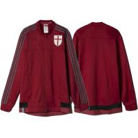 Wholesale Ac milan Mens Zip Up Soccer Jacket Club Team Football Training Suit from china suppliers