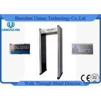 Wholesale 6 Zone 5 No Count Led Walkthrough Metal Detector Door Frame For Security from china suppliers