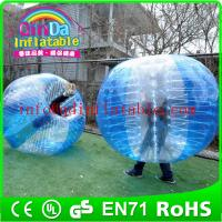 Wholesale Inflatable Bumper Ball Knocker Soccer Balls Bubble Football suit from china suppliers