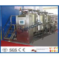 Wholesale 10 m³/H Flow Rate 1000L CIP Cleaning System For Milk Processing Plant ISO 9001 / SGS / CE from china suppliers
