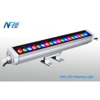 Wholesale High Power 18w IP65 RGB 30°LED Wall Washing Light With 18pcs LED from china suppliers