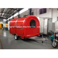 Wholesale Custom Street Food Vans Juice Trailer Fast Food Truck Snack Car Carts from china suppliers