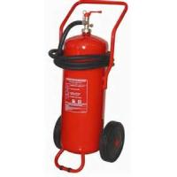 Wholesale ABC Powder Trolley Fire Extinguisher 50Kg Easy Installation For Underground Parking Lot from china suppliers