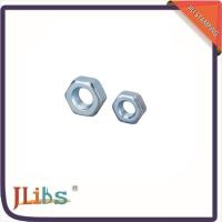 Wholesale Fastener M8 Carbon Steel Hex Nuts DIN933 DIN931 DIN934 For Sanitary / Waste Water Pipes from china suppliers