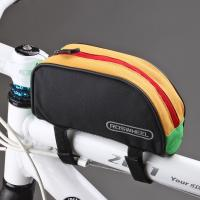 Wholesale Outdoor Bicicleta mountain bike Cycling Bag Frame Front Bike Bag Roswheel Pouch from china suppliers