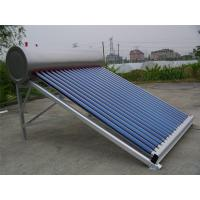 Wholesale No Pressure 300L Solar Energy Water Heater 20 Degree Angle For Domestic Hot Water from china suppliers