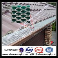 Wholesale aluminum expanded metal gutter guard,gutter mesh manufacturer from china suppliers