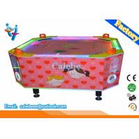 Wholesale 4 Players Kids Air Hockey Table Loving Heart Style With Led Light from china suppliers