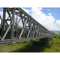 Wholesale Electric Galvanized, Painting and Grinding prefabricated Structural Steel Bailey Bridge from china suppliers