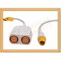 Wholesale Siemens IBP Cable 8 Pin to 10 Pin for Invasive Blood Pressure from china suppliers