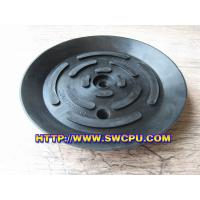Quality rubber black suction cups with threaded screw for sale