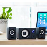 Wholesale laptop computer audio speakers, AUX input multimedia mini portable small 2.1 subwoofer from china suppliers