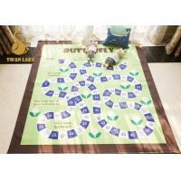 Wholesale Plush Fabric Material Modern Floor Rugs For Living Room / Bedroom / Dining Room from china suppliers