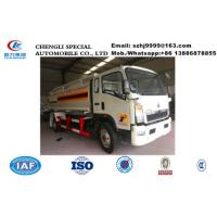 Wholesale Factory sale lower price SINO TRUK HOWO 10,000Liters oil tank truck, HOT SALE! HOWO 4*2 LHD fuel dispensing truck from china suppliers