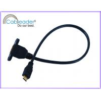 Wholesale 24k gold plated connetor 1080P rejection EMI and RFI Mini HDMI 1.4 cables from china suppliers