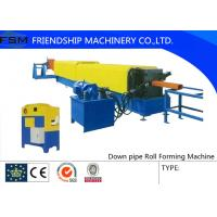 Wholesale Squared / Round Down Pipe Roll Forming Machine Panasonic PLC Control from china suppliers