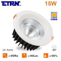Wholesale ETRN Brand CREE COB LED 4 inch 15W LED Downlights Ceiling Lights Recessed lights from china suppliers
