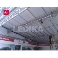 Quality Durable Strengthen Box Truss System Aluminium Stage Truss For Commodity Fair for sale