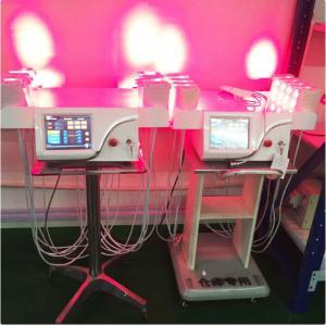 Vertical Cold Laser Lipo Machine / Laser Weight Loss Machine Higher Safe Standard
