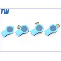 Wholesale Brightness Button LED Light 8GB Pen Drives Twister Resin Dome Logo from china suppliers