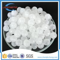 China Semi Transparent Polypropylene Spheres For Chemical / Mining Industry on sale