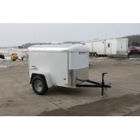 Wholesale 750kg Capacity 7x4 Single Axle Furniture Van Trailer / Fully Enclosed Cargo Trailers from china suppliers