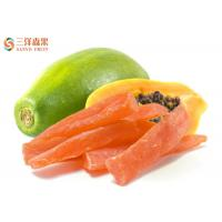 Wholesale Organic Freeze Dried Fruit Papaya Flakes / Diced / Strips No Artificial Coloring from china suppliers