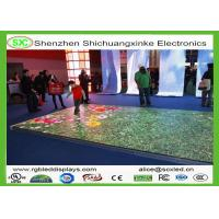 Wholesale 3D Outdoor Digital LED Dance Floor for Party , 5 Years Warranty With WIFI from china suppliers