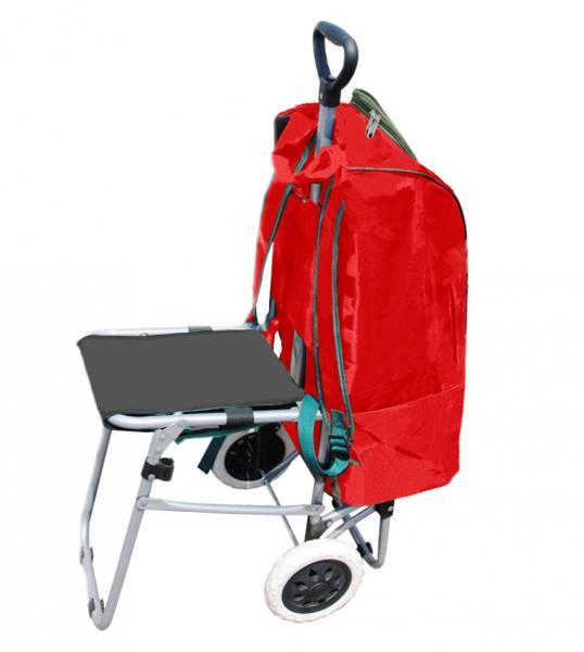 Multipurpose Shopping Backpack Lightweight Wheeled