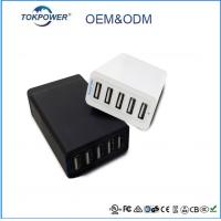 Wholesale Intelligent micro connector multi ports 5 port usb charger 5v 8a 2a 1a 2.4a from china suppliers