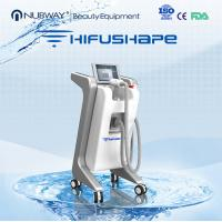 Wholesale 2015 NUBWAY SLIMMING leading technology ultrashape hifu beauty machine / hifu body from china suppliers