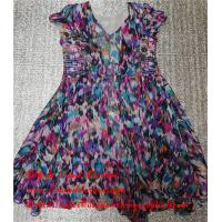 Wholesale Hebei Factory Stock Second Hand Ladies Dresses Used Printed Pure Silk Skirt from china suppliers