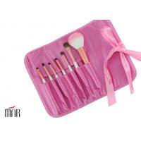 Wholesale Pink waterproof Bag Makeup Brush Cylinder Including Contour Brush from china suppliers