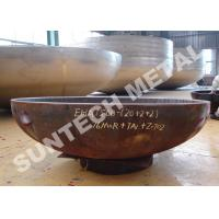Wholesale Zirconium and CS Anticorrosion Pressure Vessel Clad Head 2/1 EHA R60702/Zr702 from china suppliers