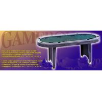 Wholesale 84 Inches Oval Poker Table , Indoor  Modern Poker Table With Folding Legs from china suppliers