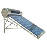 Wholesale High Absorption 12 Tubes Solar Water Geyser , Evacuated Tube Solar Water Heater from china suppliers