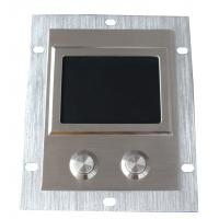 Wholesale 2 Mouse Button Dustproof Metal Sealed Rugged Touchpad With Rear Panel from china suppliers