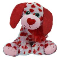 Wholesale Cute Plush Toy Dogs Valentines Day Stuffed Toys with Embroidery Logo from china suppliers