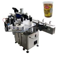 Wholesale Round Bottle Labeling Machine , bottling and labeling machine for bround suger jar from china suppliers