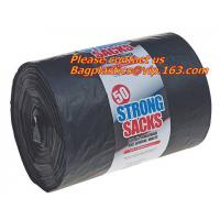 Wholesale Black Trash Bags, Black garbage Bag, Medical Waste Bag, Drum Liners, liner bags, green bag from china suppliers