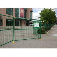 """Wholesale 8' Height x 10' Width Canada standard Temporary Construction Fencing Panels Tubing 1.6""""/40mm Brace 1""""/25mm from china suppliers"""