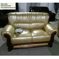 A06 1 2 3 Seater Modern Genuine Leather Sofa Set Office