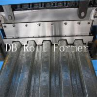 Wholesale 18.5kw Metal Decking Sheets Roll Forming Machine Used on High Buildings from china suppliers