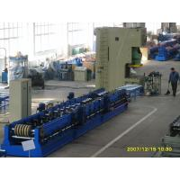 Wholesale 45 Degree Cutting Multi Punching Cable Tray Roll Forming Machine For Steel Door Frame from china suppliers