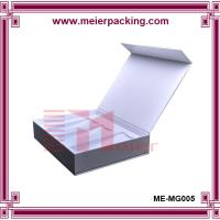 Wholesale Recycle paper small wine bottle box/Magnet paper wine packaging box ME-MG005 from china suppliers