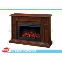 Wholesale Living Room Home Solid Wood Veneer Decorating Fireplace / 1140mm * 330mm * 895mm from china suppliers