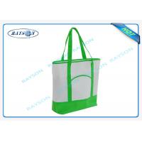 Wholesale 100% recycled pp non woven  handle shopper shopping bag for carbage from china suppliers